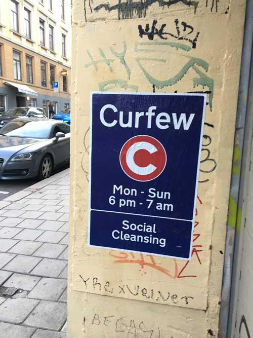 Curfew, Dr D, in Oslo