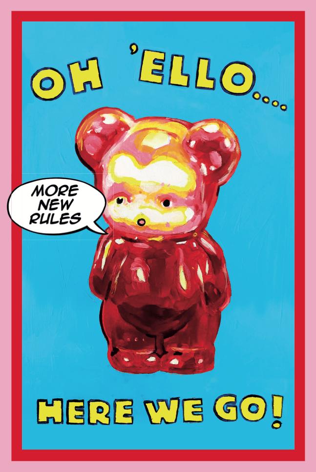 Oh 'Ello Poster, Magda Archer